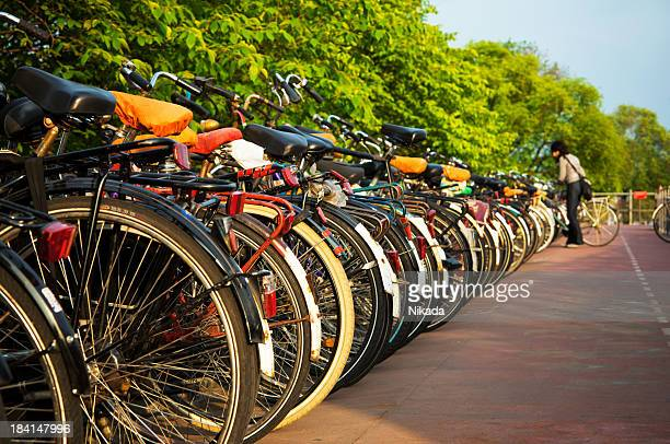 Bicyclettes à Amsterdam