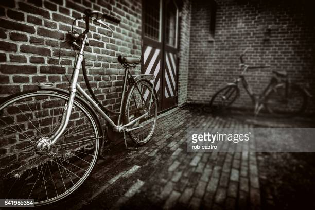 Bicycles in Black and White