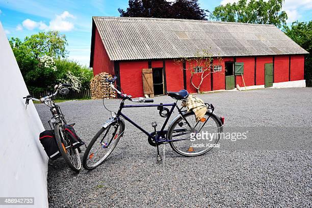Bicycles on Bornholm island
