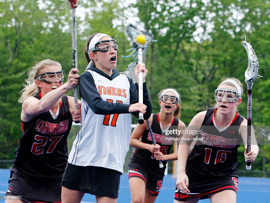 biddeford vs scarborough girls lacrosse at une pictures getty biddeford 11 cassidy petit is surrounded by scarborough defense 27 kaitlin prince