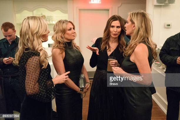 CITY 'Bidding on Love' Episode 907 Pictured Tinsley Mortimer Ramona Singer Carole Radziwill Sonja Morgan