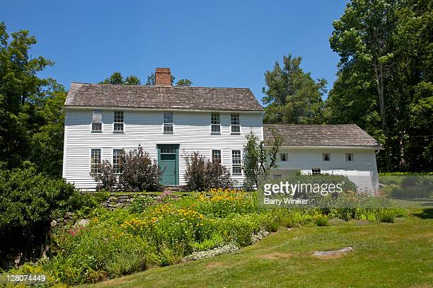 Bidwell House Museum, Colonial House Museum, landmark attraction in Monterey, The Berkshires, Massachusetts, USA