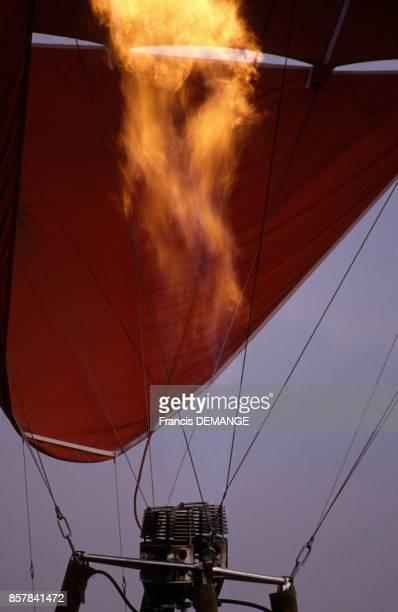 Biennale mondiale de l'aerostation le 30 juillet 1993 a Chambley France