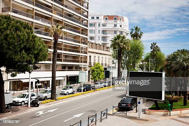 Bienvenue à la Croisette, Cannes la Côte d'Azur sur la Côte d'Azur en France