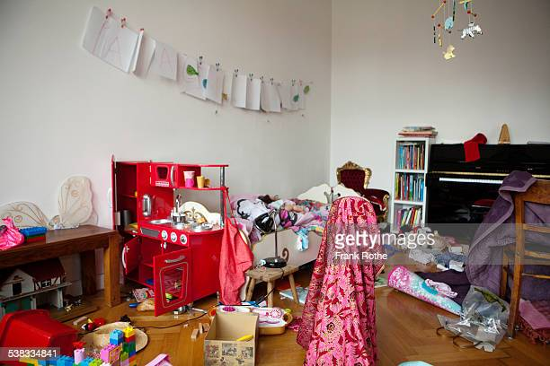 big and beautiful chaos in a kids room