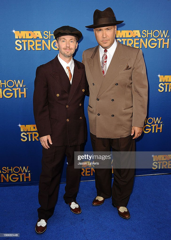 Big Bad Voodoo Daddy attends the MDA Labor Day Telethon at CBS Studios on August 8, 2012 in Los Angeles, California.