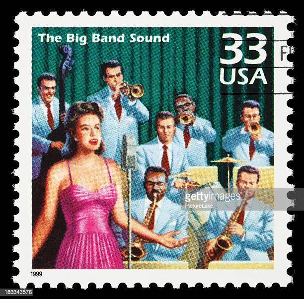 Big band-Briefmarke