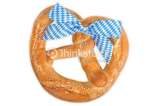 big bavarian oktoberfest soft pretzel stock photo thinkstock