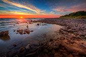 Big Bay de Noc Sunset