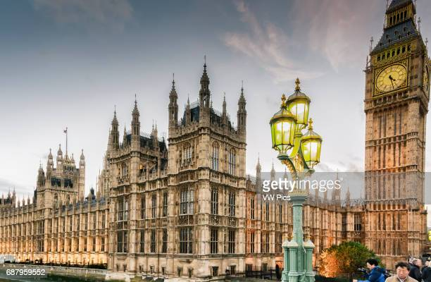 Big Ben and Houses of Parliament London England United kingdom Europe