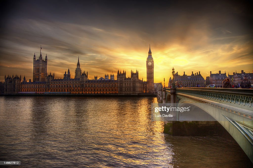 big ben and houses of parliament : Stock Photo