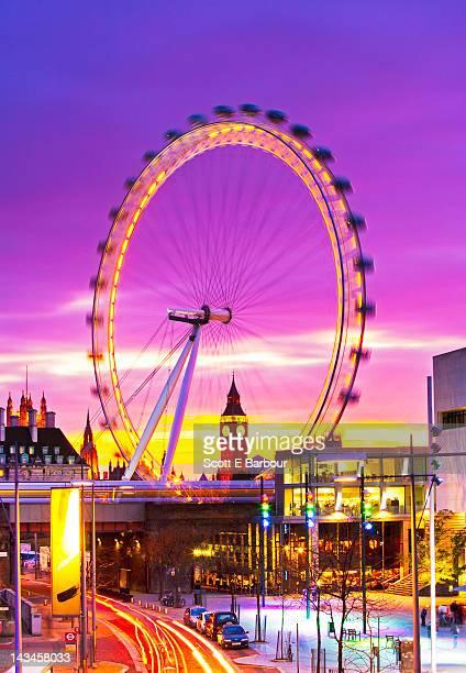 Big Ben and London Eye