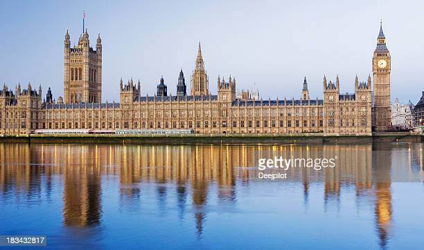 Big Ben and the Palace of Westminster in London