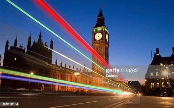 Big Ben e il Palazzo di Westminster a Londra, Regno Unito