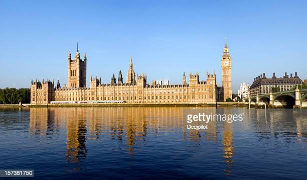 Big Ben and the Palace of Westminster in London UK