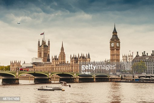 Big Ben and the Parliament in London