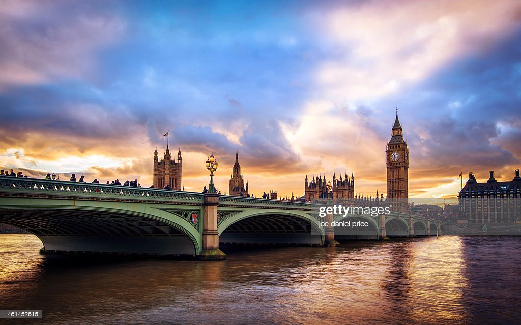 Big Ben and Westminster : Stock Photo
