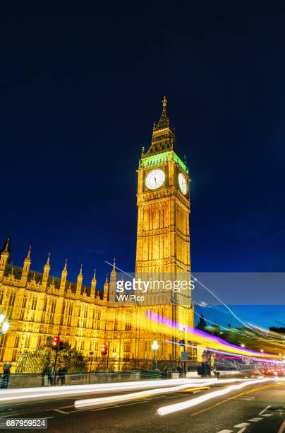 Big Ben at dusk London England United kingdom Europe