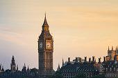 Urban Skyline in London, famous place, national landmark