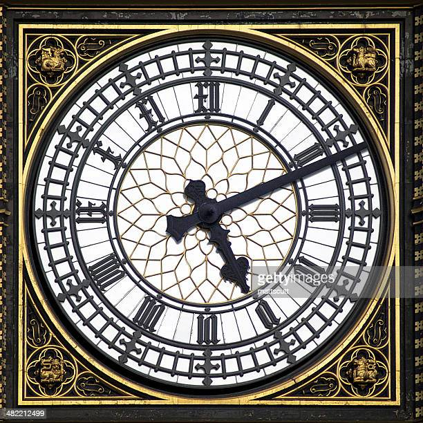 Big Ben clock face, London, England, UK