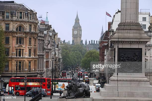 Big Ben depuis Trafalgar Square