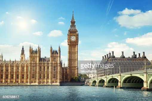 Big Ben in sunny day, London : Stock Photo
