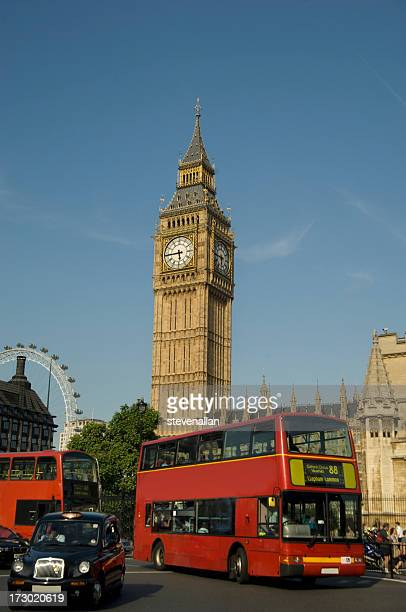 Big Ben London Bus