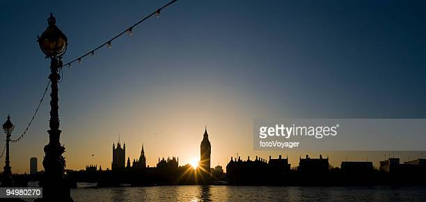 Big Ben sunset London