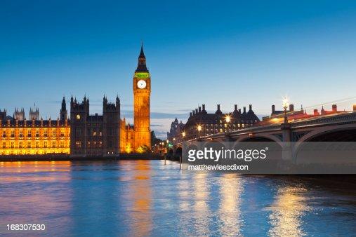 El Big Ben Y Westminster Las Casas Del Parlamento Londres