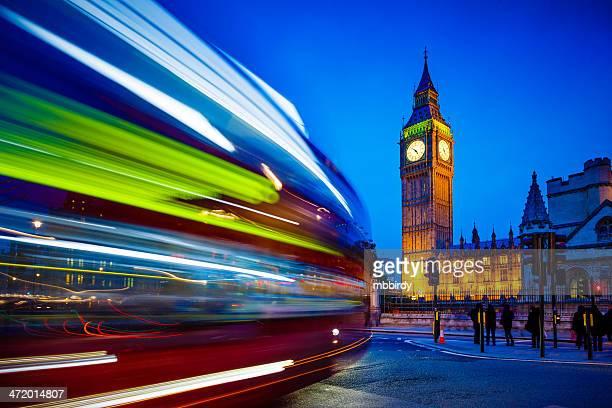 Big Ben, da Westminster, Londra, Regno Unito
