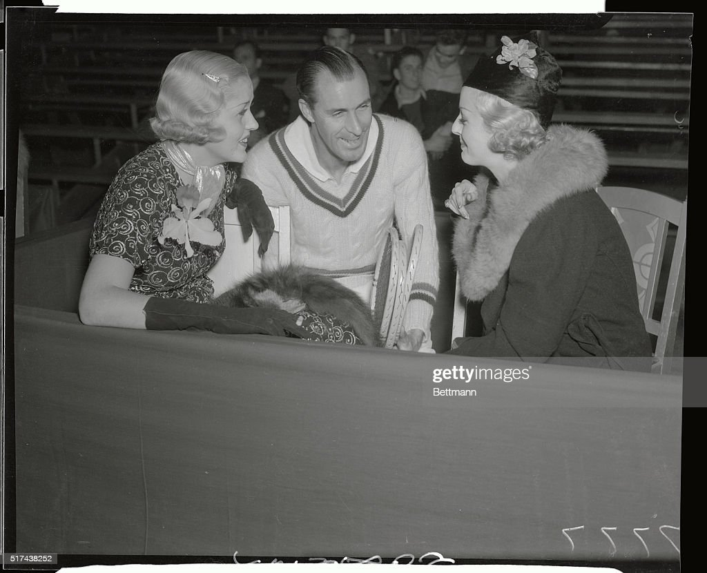 Bill Tilden with Actresses