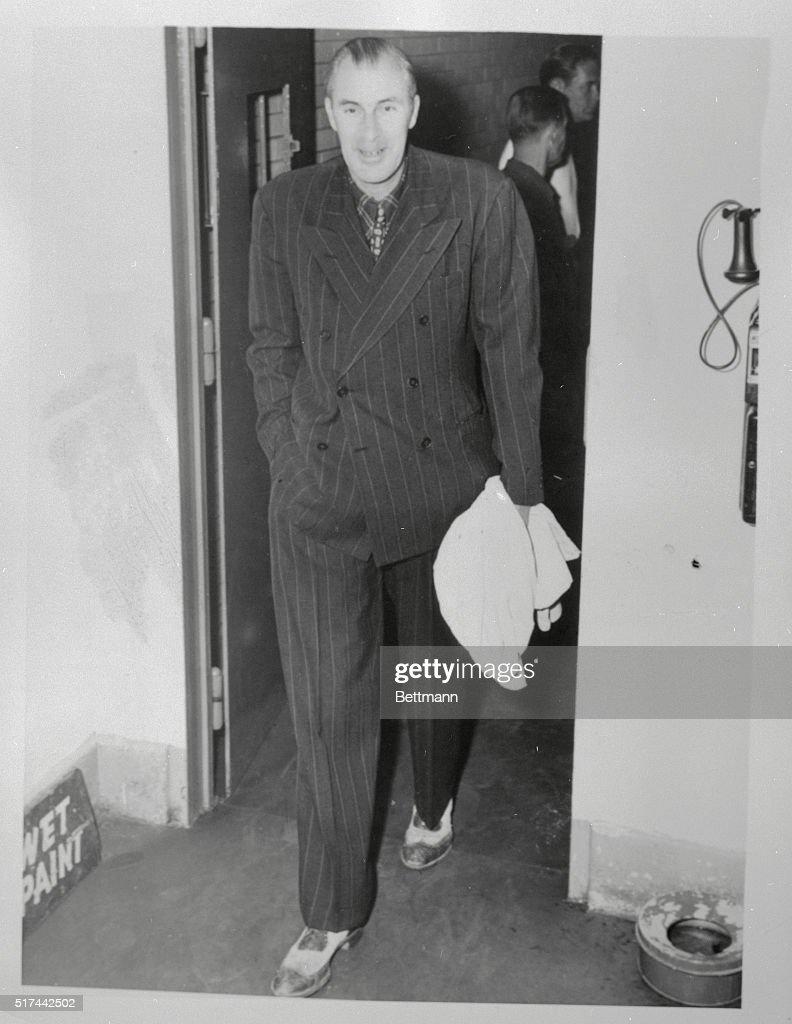 Bill Tilden Leaving Jail
