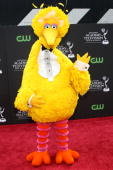 Big Bird of Sesame Street arrives at the 36th Annual Daytime Entertainment Emmy Awards at The Orpheum Theatre on August 30 2009 in Los Angeles...
