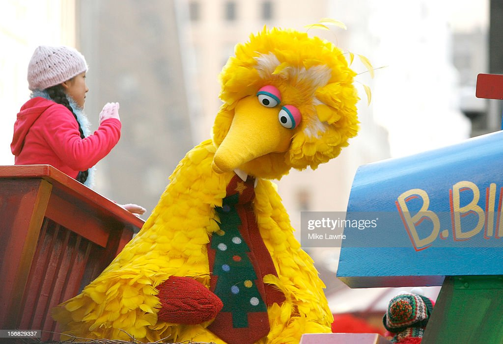 Big Bird of Sesame Street attends the 86th Annual Macy's Thanksgiving Day Parade on November 22, 2012 in New York City.