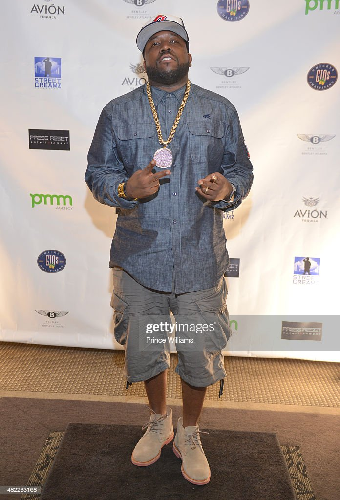 Big Boi attends 10 Year Anniversary Celebration Dinner With Jeezy And The Street Dreams Foundation at 103 West on July 24 2015 in Atlanta Georgia