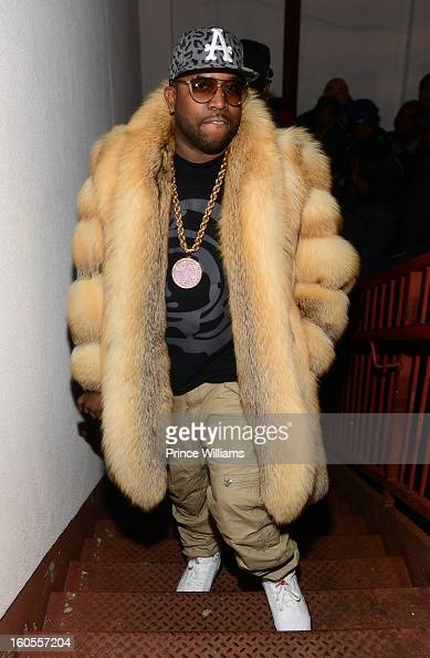 Big Boi attends his birthday celebration at at Club Reign on February 2 2013 in Atlanta Georgia