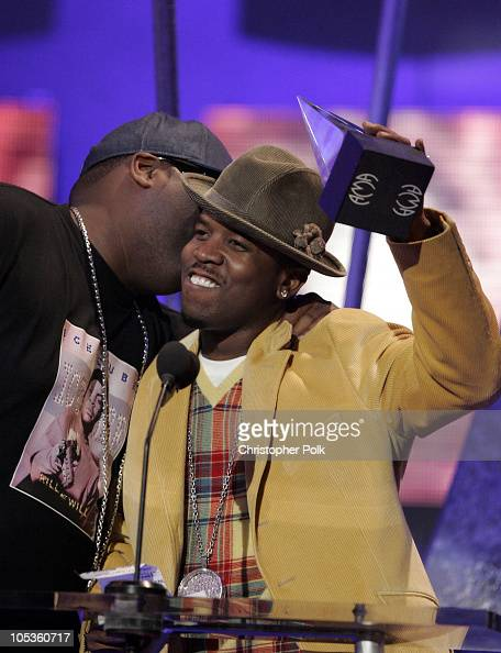 Big Boi of OutKast accepts the award for Favorite Rap/HipHop Band Duo or Group