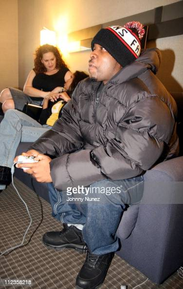 Big Boi of OutKast during Big Boi of OutKast Photo Op for ICon Video Game at W Hotel in New York City New York United States