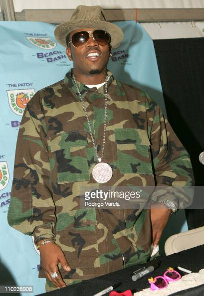 Big Boi of OutKast during Orange Bowl Beach Bash 2005 Press Conference at Hollywood Beach in Miami Florida United States
