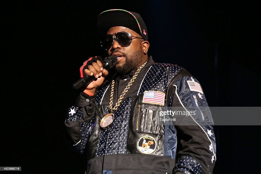 Big Boi of Outkast performs during the 2014 Forecastle Music Festival at Louisville Waterfront Park on July 18, 2014 in Louisville, Kentucky.