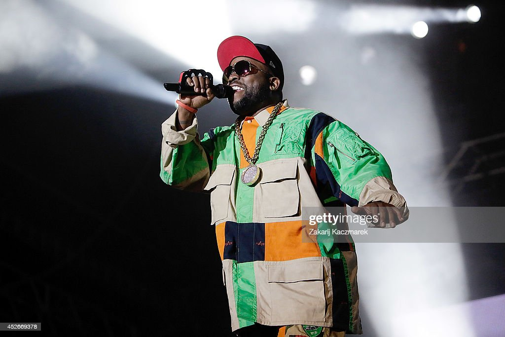 <a gi-track='captionPersonalityLinkClicked' href=/galleries/search?phrase=Big+Boi&family=editorial&specificpeople=202898 ng-click='$event.stopPropagation()'>Big Boi</a> of Outkast performs on stage at Splendour In the Grass 2014 on July 25, 2014 in Byron Bay, Australia.