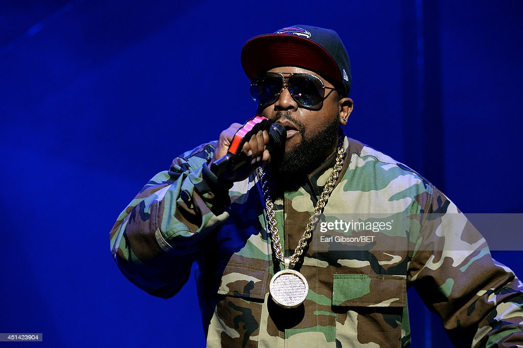 <a gi-track='captionPersonalityLinkClicked' href=/galleries/search?phrase=Big+Boi&family=editorial&specificpeople=202898 ng-click='$event.stopPropagation()'>Big Boi</a> of Outkast performs onstage at the OutKast, A$AP Rocky, Rick Ross, K. Michelle, August Alsina & Ty Dolla $ign Presented By Sprite during the 2014 BET Experience At L.A. LIVE on June 28, 2014 in Los Angeles, California.