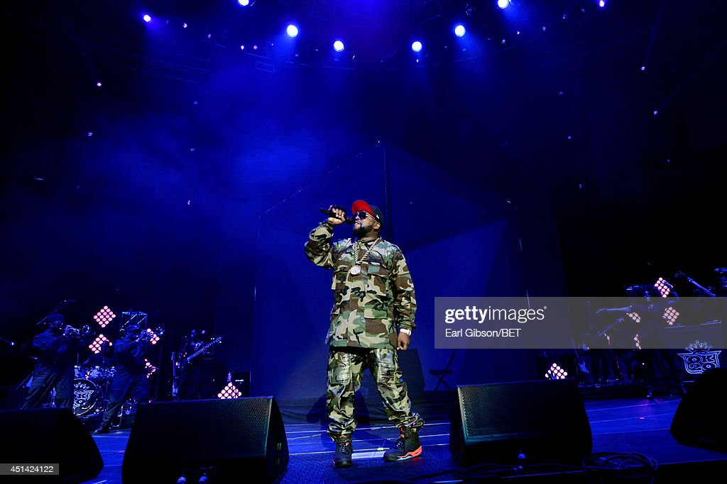 Big Boi of Outkast performs onstage at the OutKast, A$AP Rocky, Rick Ross, K. Michelle, August Alsina & Ty Dolla $ign Presented By Sprite during the 2014 BET Experience At L.A. LIVE on June 28, 2014 in Los Angeles, California.