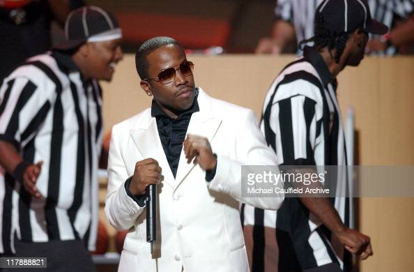 Big Boi of OutKast performs 'The Way You Move' during 2004 ESPY Awards Show at Kodak Theatre in Hollywood California United States