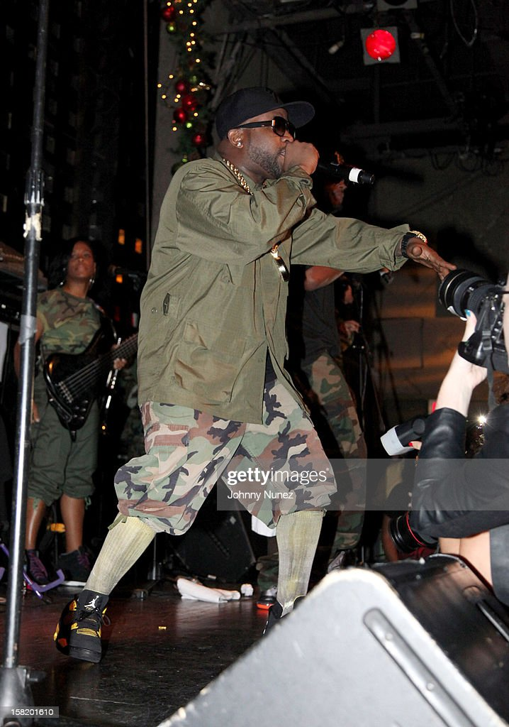 Big Boi performs at his Album Release Party at S.O.B.'s on December 10, 2012 in New York City.