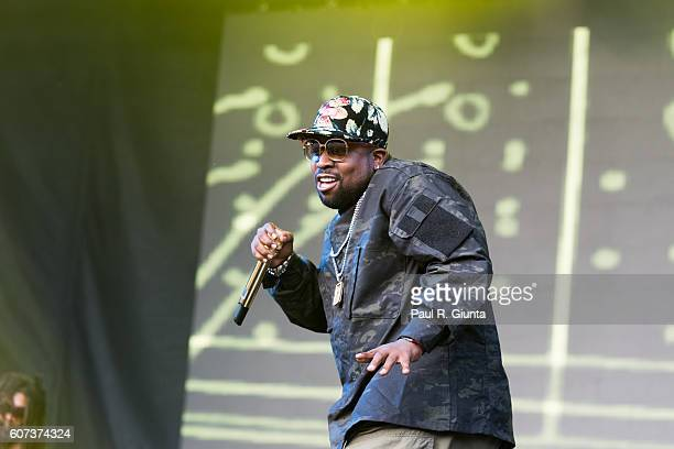Big Boi performs at Music Midtown 2016 at Piedmont Park on September 17 2016 in Atlanta Georgia