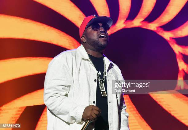 Big Boi performs during V103 Live Pop Up Concert at Philips Arena on March 25 2017 in Atlanta Georgia