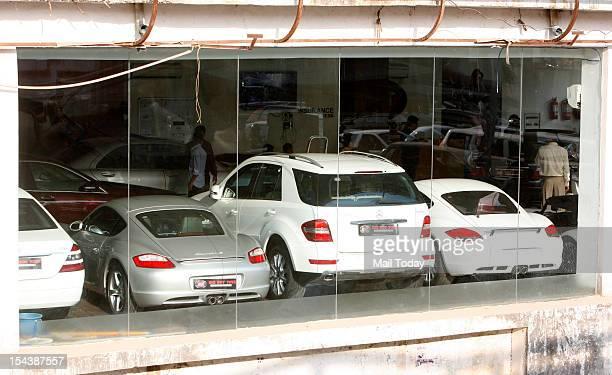 Big Boy Toys car Showroom at MG Road in New delhi on Thursday