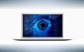 eye is looking - computer screen