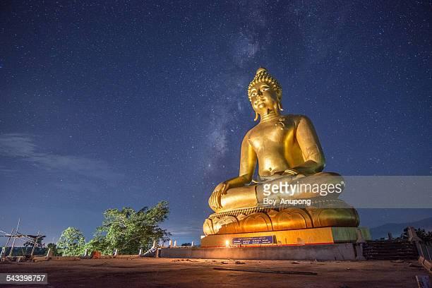 Big Buddha image in Chiangrai province of Thailand
